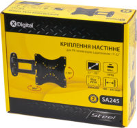 Кріплення для ТВ X-Digital Steel SA245 BLACK 5878