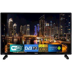 Телевізор BRAVIS LED-22F1000 Smart+T2 black