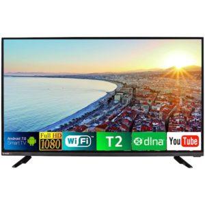 Телевізор BRAVIS LED-43E6000 Smart + T2 black