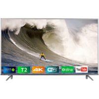 Телевізор BRAVIS UHD-55G7000 Smart + T2 silver